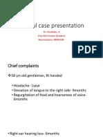 An Ideal Case Presentation- 1-1