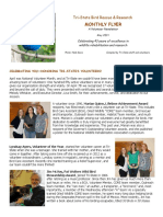 May 2019 Volunteer Flyer