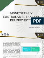 Monitorear y Controlar El Trabajo Del Proyecto