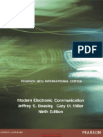 Modern Electronic Communication System 9th Edition By Beasly And Miller Decibel Hertz