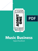 Music Business Degree Major Handbook