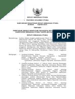Rancangan PERBUP IKG Minahasa Utara