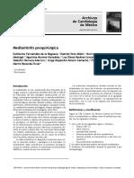 mediastinitis postquirurgica