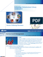 ITIL Foundation - Service Delivery