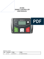 DC30D Genset Controller User Manual V1.0-20181201
