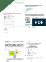 Bimestral de Matematicas 10 1periodo