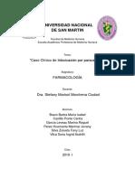 Caso Clinico Grupo 1 Intoxicacion Por Paracetamol