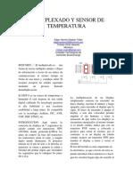 Multiplexado y Sensor de Temperatura