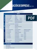 Plan Estudios Administracion Empresas