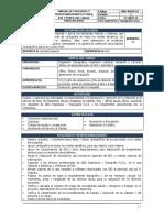 MAN-RHSO-01 Manual de Funciones y Responsabilidades - Profesionnal en SIG