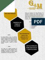Brochure g&m Soluciones Efectivas