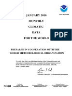 Climatic Enero - 2016 Monthly