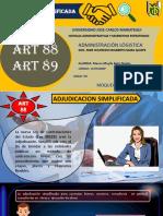 ART 88 Y 89