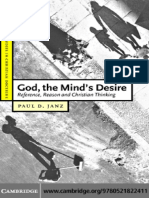 Janz - God, The Mind's Desire; Reference, Reason and Christian Thinking (2004)