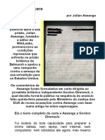 Carta Do Cárcere