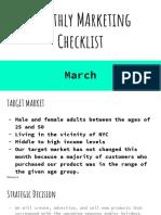 march marketing checklist   1