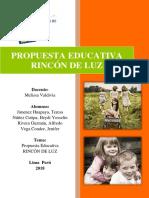 Proyecto Educativo PPA