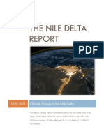 Climate Changes in the Nile Delta