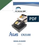 VE ACLAS CR2100 Manual de Usuario (v.1.0)