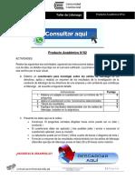 TALLER DE LIDERAZGO PRODUCTO ACADÉMICO N°2