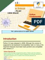 2 Python Fundamentals