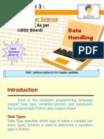 3 Data Handling
