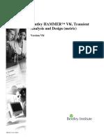 Hammer v8i Si Manual