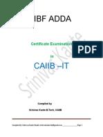 Caiib Information Technology
