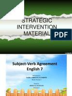 Sim 2017-18 Subject-Verb Agreement