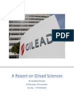 A Report on Gilead Sciences