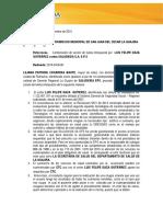 Accion de Tutela Luis Felipe Daza