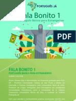 Fala Bonito 1 - eBook