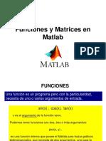Funciones y Matrices