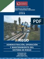 Adm, O & M Sistemas de Riego -Capacitacion - Promotores.pdf