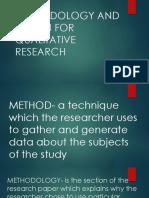 Methods and Design
