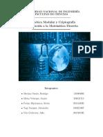 Aritmética Modular y Criptografía