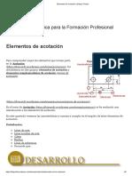 Elementos de Acotación _ Dibujo Técnico