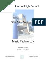 Music Technology Curriculum