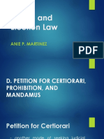 Admin and Election Law