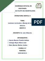 g8_lesiones Cervicales_ Operatoriadental II Borrador