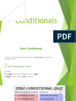 Conditional of tenses