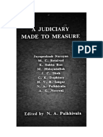 A Judiciary Made to Measure