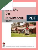 Manual Del Informante 2017
