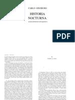 Carlo Ginzburg - Historia Nocturna