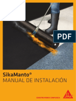 Manual de Instalacion de Sikamantos 2019