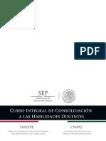 Curso Integral de Consolidacion a Las Habilidades Docentes