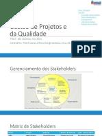Gestão de Projetos e Da Qualidade 05