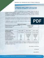 Le document de l'agence UMAO-Titres