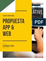 Propuesta Web/App