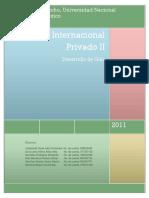 Guia de Estudio Derecho Internacional Privado II